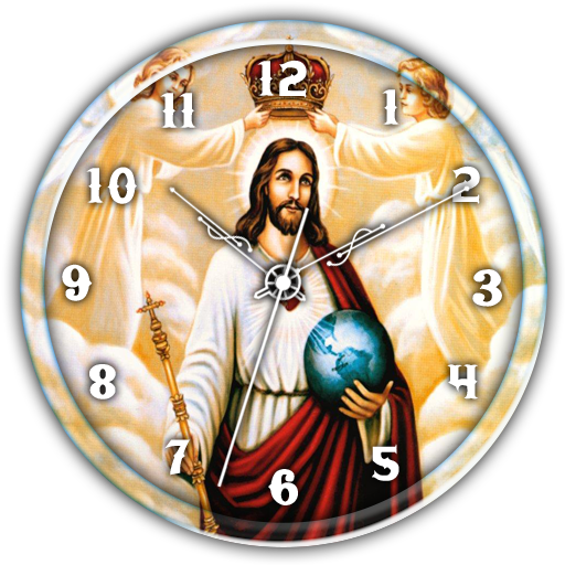 Jesus Clock Live Wallpaper