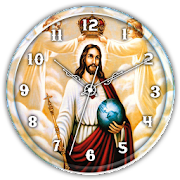 Jesus Clock Live Wallpaper