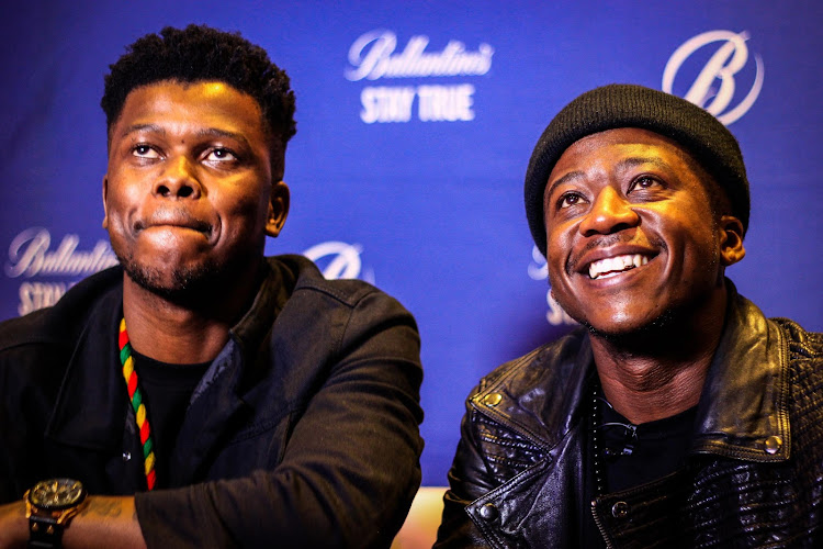 Bongani Mohosana and Thabo Mabogwane of Black Motion Picture: Boikhutso Ntsoko
