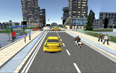Big-City-Taxi-Drive-Simulation 12