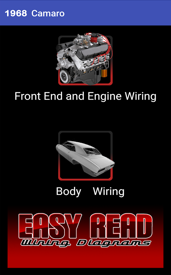 camaro wiring diagram android apps on google play 1968 camaro wiring diagram screenshot
