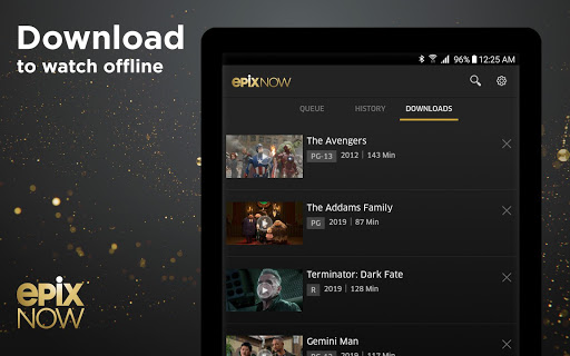 EPIX NOW: Watch TV and Movies screenshot 16