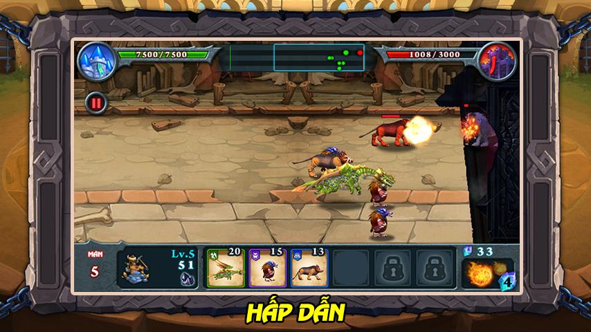 android Manh Thu Dai Chien Screenshot 1