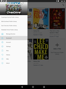 OverDrive- thumbnail ng screenshot