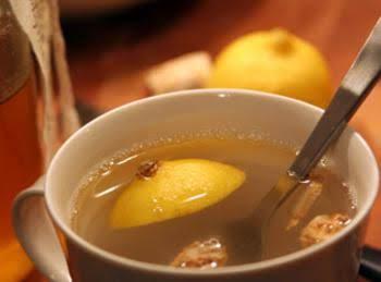 Ginger Honey Lemon Drink for the Cold & Flu By fre