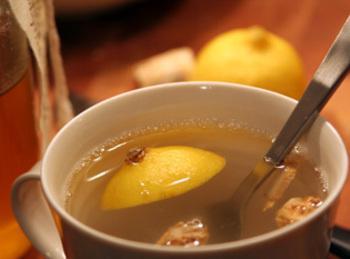 Ginger Honey Lemon Drink For The Cold & Flu By Fre Recipe