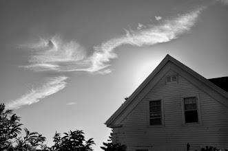 Photo: Cloud at Sunset