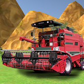 Combine Harvester Forage Plow