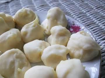 Lemon Truffles with White Chocolate