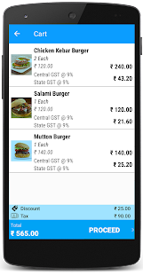 Just Billing Point of Sale - POS with GST- screenshot thumbnail