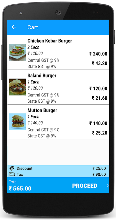 Just Billing Point of Sale - POS with GST- screenshot