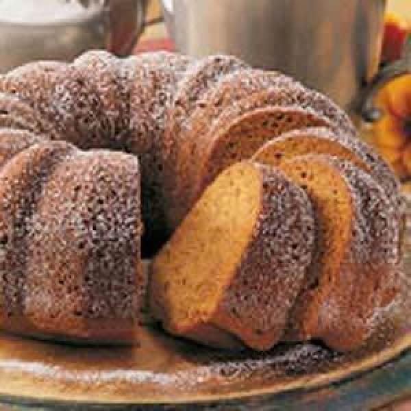 Pumpkin Pound Cake Recipe
