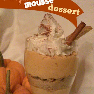 Pumpkin Mousse Dessert
