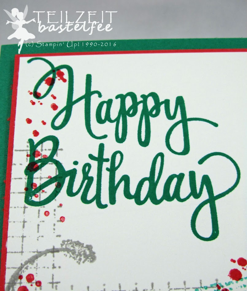 Stampin' Up! – InColors, Arielle, 30. Geburtstag, birthday, Timeless Textures, Liebe ohne Grenzen, Going Global, Stylized Birthday, male card, Männerkarte