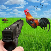 Frenzy Chicken Shooter 3D: Shooting Games with Gun