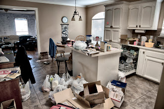 Photo: May 28, 2012 - This is what a place looks like when you have 2 college age guys in a house with no mom (or older brother) to pester them into cleaning up!