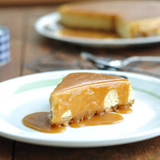 Salted Caramel Cheesecake.