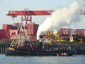 Photo: De sint is bijna gearriveerd in Schiedam (2007, ingezonden door R. v.d.Stelt)