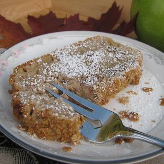 Gluten-free Apple Pecan Pound Cake.