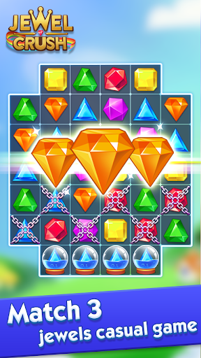 Jewel Crush™ - Jewels & Gems Match 3 Legend screenshots 1