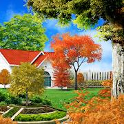Autumn Garden Live Wallpaper