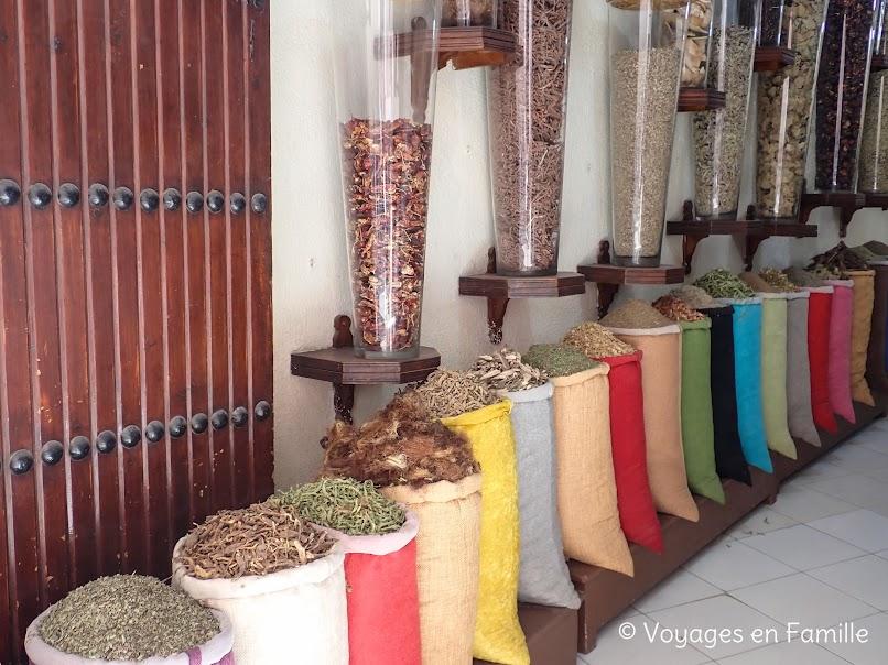 Marrakech - marché épices