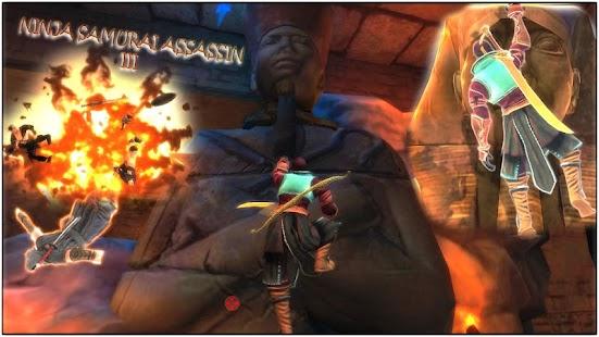 Ninja Samurai Assassin Hero III Egypt - náhled