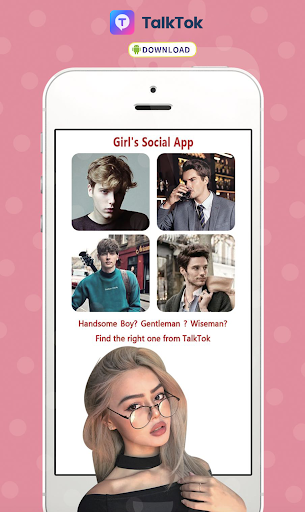Download TalkTok - Free dating app for girls 1.3.2 1