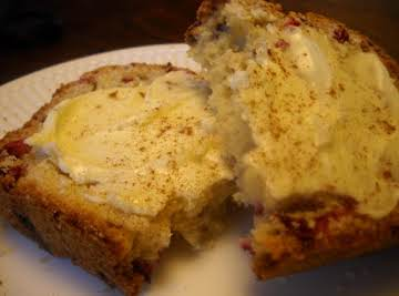 Cranberry-Orange Bread w/ Honey Butter