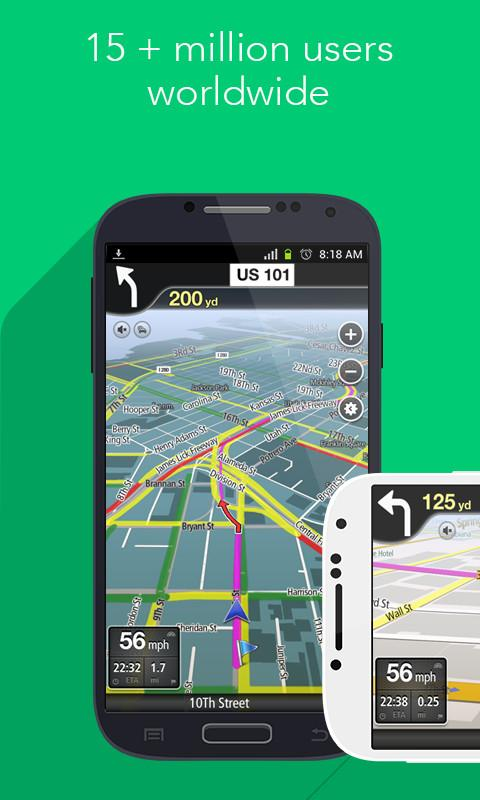 Navfree GPS World- screenshot