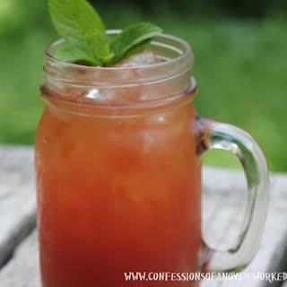 Herbal Templeton Iced Tea.