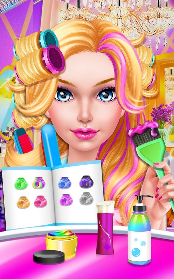 Fashion Doll Hair Salon Screenshot