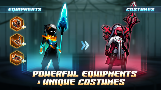 Cyber fighters: shadow legends in cyberpunk city MOD (Purchase) 3