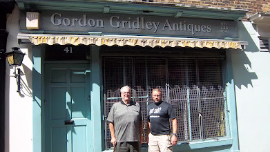 Photo: Tracking down Gordon Gridley Antiques, but nobody was home.  Perhaps he died.