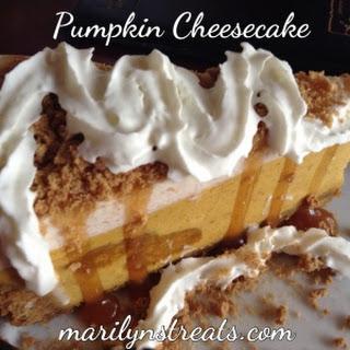 Pumpkin Cheesecake Ginger Cookie Crust