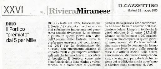 Photo: Il Gazzettino di Venezia (28.05.2013)