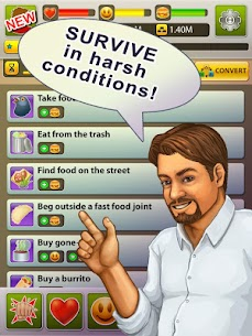 Hobo World – life simulator Apk Download For Android and Iphone 8