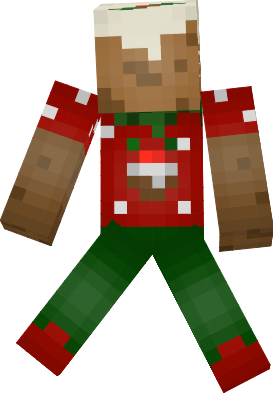 minecraft ps3 christmas pudding eat this good treat doctor_i_know - Christmas Skins For Minecraft