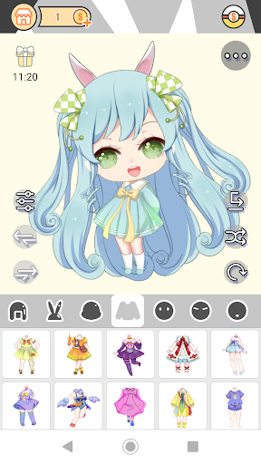 Cute Girl Avatar Factory 1.0.2 Mod screenshots 1