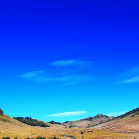 by Bobby Dozan - Landscapes Mountains & Hills ( hills, sky, indonesia, tourism, morning, bromo, landscape, clear sky )