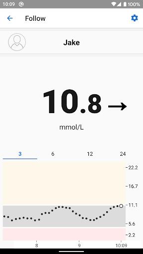 Dexcom Follow mmol/L DXCM1 4.1.0 screenshots 3