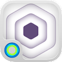 Hexagonal Hype Hola Theme icon