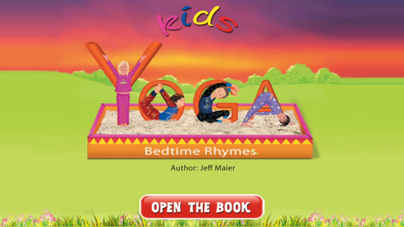 Kids Yoga App – Bedtime Rhymes- screenshot
