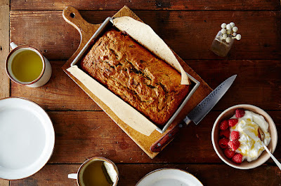 Easy-going banana bread.