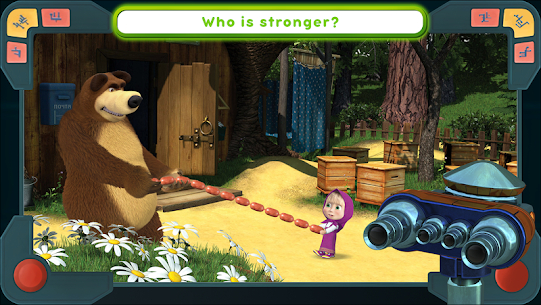 Masha and the Bear Mod Apk: We Come In Peace! (No Ads) 1.0.3 3