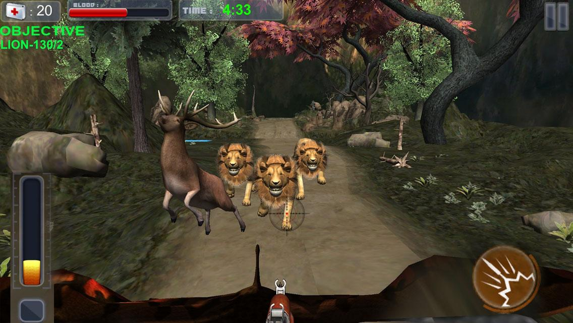 Lion hunter forest escape android apps on google play