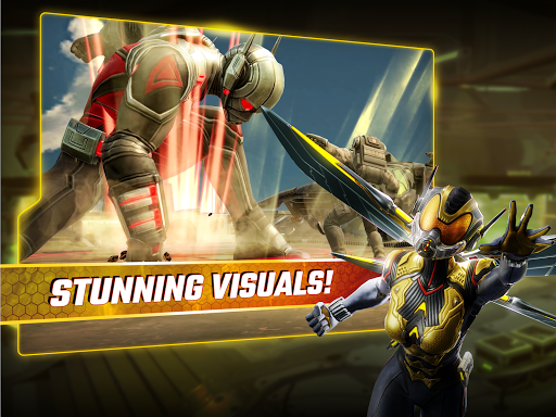 MARVEL Strike Force 1.3.2 gameplay   by HackJr.Pw 14