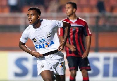"""? Le """"nouveau Neymar"""" inscrit 3 buts en 9 minutes avec Santos"""