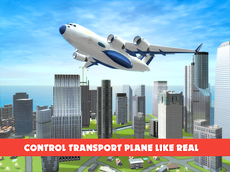 Race Car Transporter Airplane 1.9 screenshot 975056