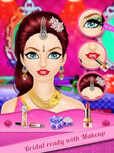 Indian Wedding Girl Makeup and Dressup - náhled